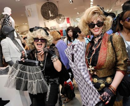 Photos from the Opening of Madonna's ''Material Girl'' Collection