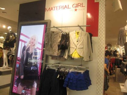 Photos: Madonna's Material Girl Line Launches At Macy's NYC