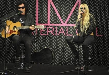 Madonna's ''Material Girl'' launch: Taylor Momsen performs at Macy's