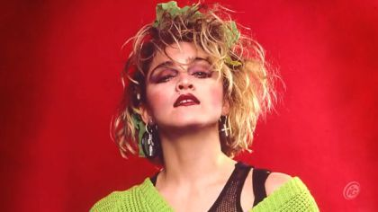 Madonna Through The Years: The Morphing