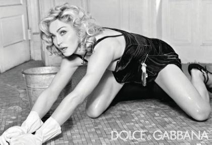 New Madonna's ad for Dolce & Gabbana AW 2010/11 campaign