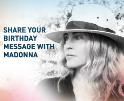Join Us in Wishing Madonna a Happy Birthday