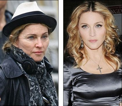 Spot the difference in the two Madonnas