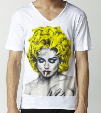 Madonna T-shirt for men at ELEVEN PARIS