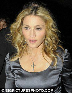 Madonna as she celebrates her birthday