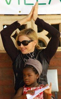 AFP: Madonna denies Malawian access to adopted girl