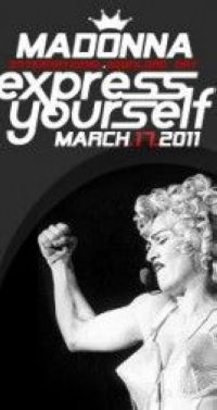 Madonna - Express Yourself International Download Day - March 17, 2011
