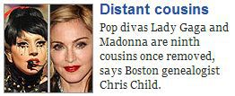 Lady Gaga and Madonna are related