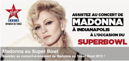 Win tickets for Madonna's Super Bowl show with Virgin Radio