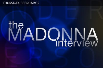 Madonna's interview with Anderson Cooper on February 2, 2012