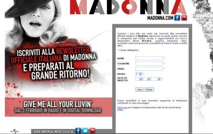 Official: Madonna's ''Give Me All Your Luvin' '' out on February 3, 2012