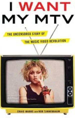 Madonna on the cover of ''I Want My MTV'' book