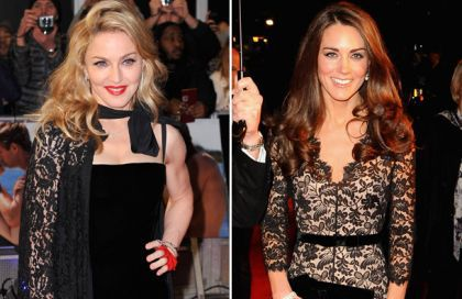 Madonna to make a movie on Prince William and Kate Middleton