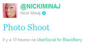 Nicki Minaj: Photo Shoot