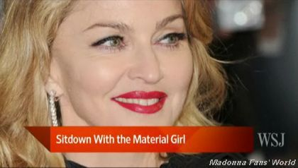 Video: Rachel Dodes from WSJ on her interview with Madonna