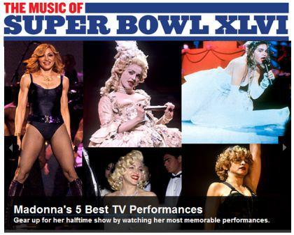 Billboard: Madonna's 5 Best TV Performances