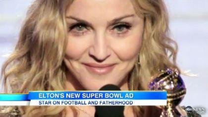 Elton John's advice to Madonna for Super Bowl: ''Make sure you lip-sync good''