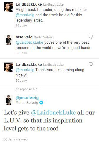 Laidback Luke working on Madonna's ''Give Me All Your Luvin' '' remix