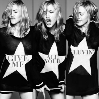 Official: Madonna - Give Me All Your Luvin': single + video on February 3, 2012