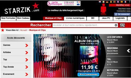 Madonna's new album ''MDNA'' at special price at Starzik