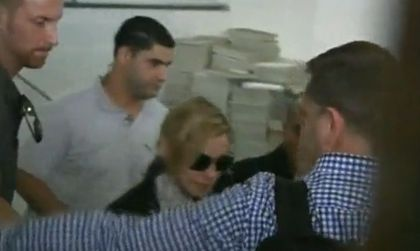 Videos: Madonna arrives in Israel ahead of world tour