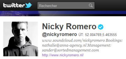 Nicky Romero working on Madonna's ''Give Me All Your Luvin' '' remix