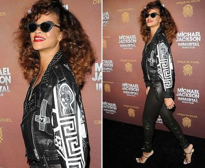 Rihanna channels Madonna's Desperately Seeking Susan style