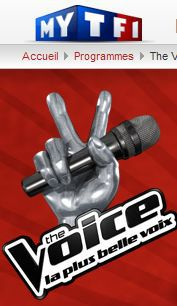 Madonna on French TV show ''The Voice'' on TF1 ?