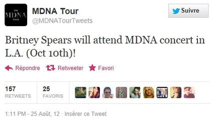 Madonna - MDNA Tour: Will Madonna, Britney Spears and Christina Aguilera reunite on-stage ?