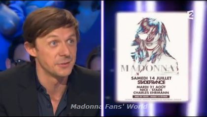 Watch Martin Solveig on French TV show ''On n'est pas couché'' - May 26, 2012