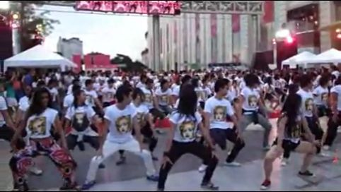 Madonna Celebration Dance Tribute at Parc Paragon, Thailand