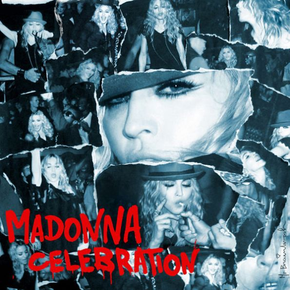 Madonna - Greatest Hits Collection ''Celebration'': Single Cover