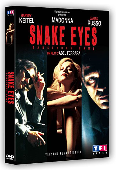 Remastered DVD of ''Snake Eyes/Dangerous Game'' with Madonna on TF1 Vidéo in France on Nov. 4, 2009