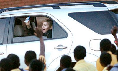 Madonna Appears To Make Gaffe In Africa