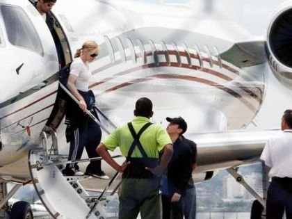 Madonna arrives in Rio, Brazil for a documentary, meetings and social projects