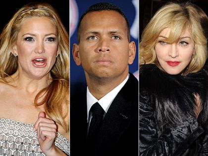 'Kate Hudson dumped A-Rod over his Madonna love'