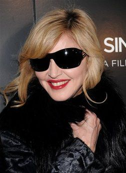 Madonna at a special screening of 'A Single Man' on Dec. 6, 2009 in New York