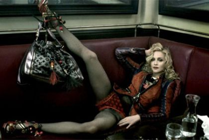 Madonna dropped by Louis Vuitton for a younger model: it's confirmed