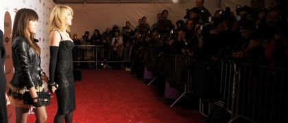 Madonna and Lourdes wearing D&G at the NY premiere of 'Nine'