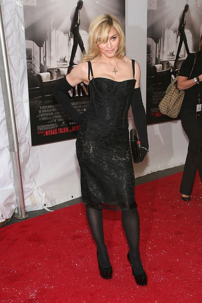 Madonna at the NY premiere of 'Nine'