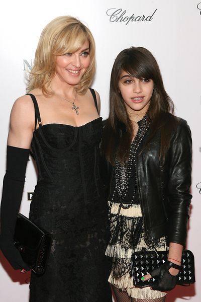 Madonna and Lourdes at the NY premiere of 'Nine'