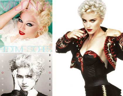 Madonna and those two album covers