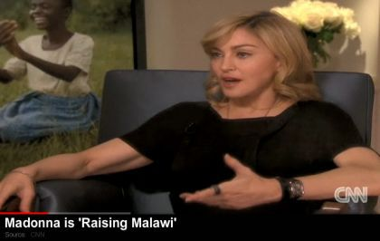 Interview with Madonna on Dec. 23, 2009 on American Morning on CNN