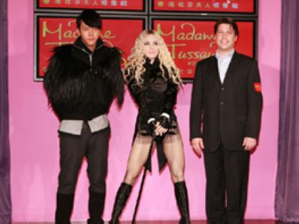Madonna ''Celebration'' Rocks Madame Tussauds Hong Kong