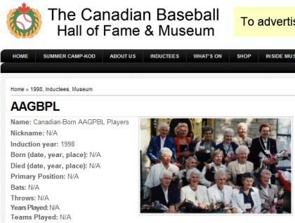 Original team of Madonna's 'A League of Their Own' at Canadian Museum