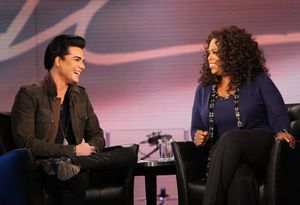 Adam Lambert about Madonna at 'The Oprah Winfrey Show'