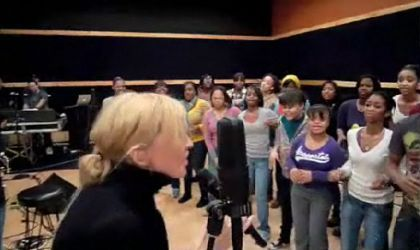 Watch Madonna doing ''4 Minutes'' at 'Hope For Haiti Now' Rehearsals