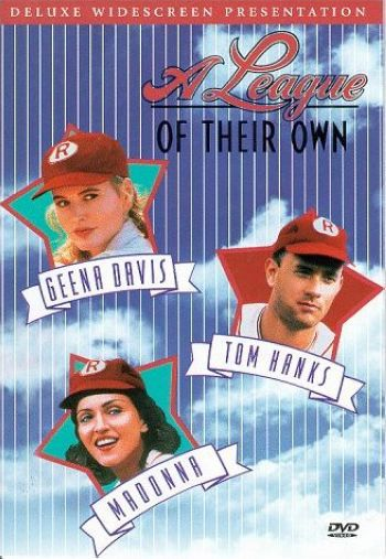 Madonna in ''A League Of Their Own'' in 1992