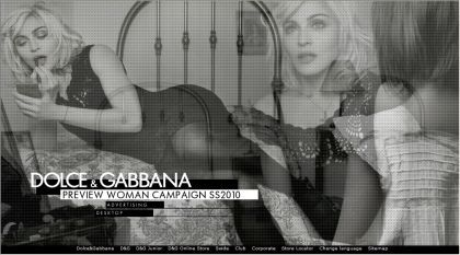 Madonna for Dolce & Gabbana, the whole campaign: 9 images