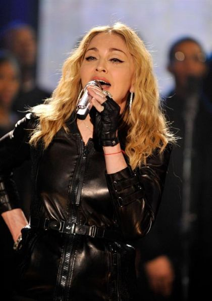 More Photos: Madonna performs at ''Hope For Haiti Now'' on January 22